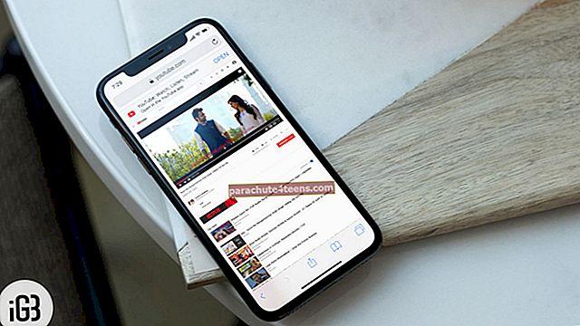 Kuinka toistaa YouTube-videoita taustalla iPhonessa tai iPadissa