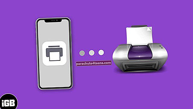 Kuidas printida iPhone'ist ja iPadist (täielik juhend)