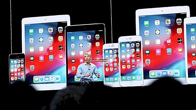 """""""iOS 13"""" palaikomi įrenginiai"""