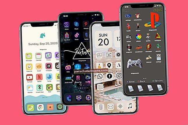 Kuidas kohandada iPhone'i rakenduse ikoone