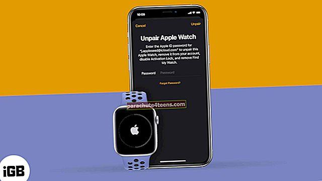 Kuidas Apple Watchi lahti ühendada iPhone'iga või ilma