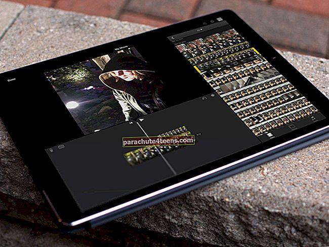 """Kaip pridėti nemokamą muziką prie """"iMovie"""" """"iPhone"""" ir """"iPad"""""""