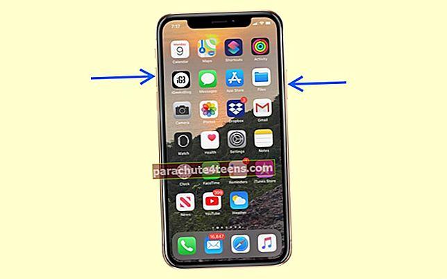 """Kaip padaryti ekrano kopiją """"iPhone"""" ir """"iPad"""" (visi modeliai)"""