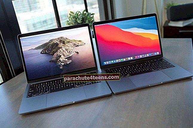 Kuidas vanade Maci andmeid oma uude MacBook Pro-sse migreerida
