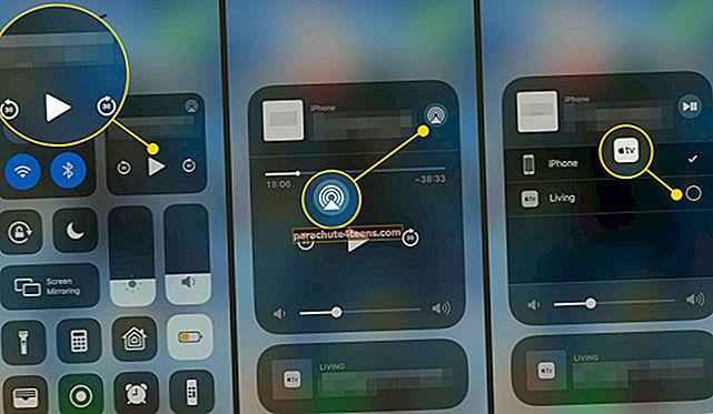 Kuidas mängida videot / heli oma iPhone'is või iPadis iOS 10-s