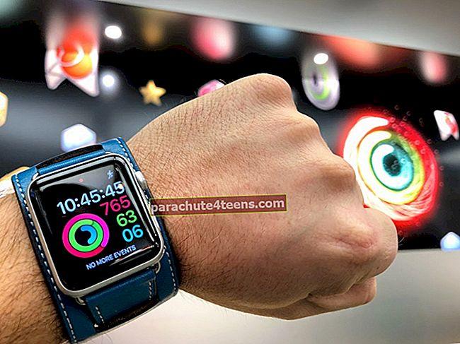 Aktiivsusrakendus ei tööta Apple Watchis ja iPhone'is