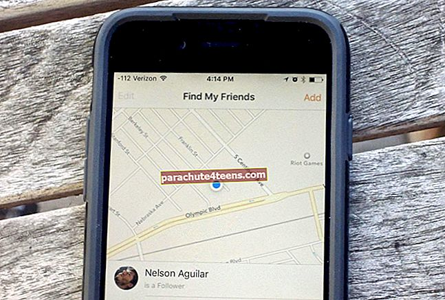 Sõbra asukoha salajane jälgimine iPhone'i / iPadi abil