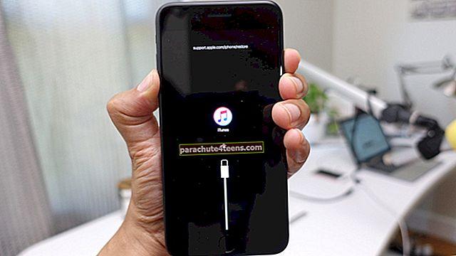 Kuidas lahendada iCloud Restore Stuck Issue iPhone'is ja iPadis