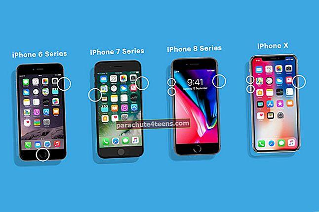 IPhonen ja iPadin uudelleenkäynnistyksen pakottaminen (kaikki mallit)