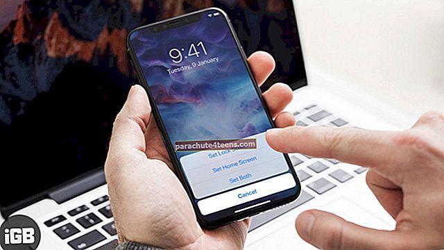 Kā lietot Live Wallpapers uz iPhone