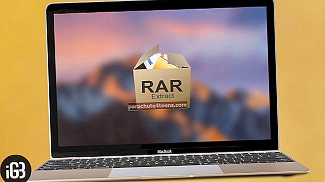 Kuinka avata RAR-tiedosto Macissa helposti