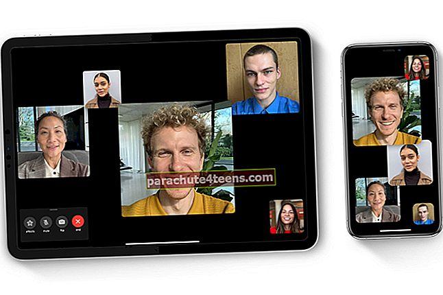FaceTime-puhelun nauhoittaminen iPhonessa, iPadissa ja Macissa