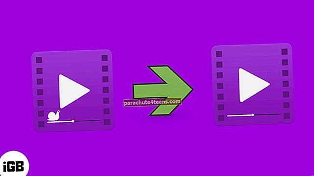 Kuinka muuntaa hidastettu video normaaliksi videoksi iPhonessa ja iPadissa