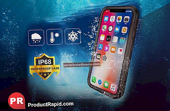 Parhaat iPhone X: n vedenpitävät kotelot vuonna 2020