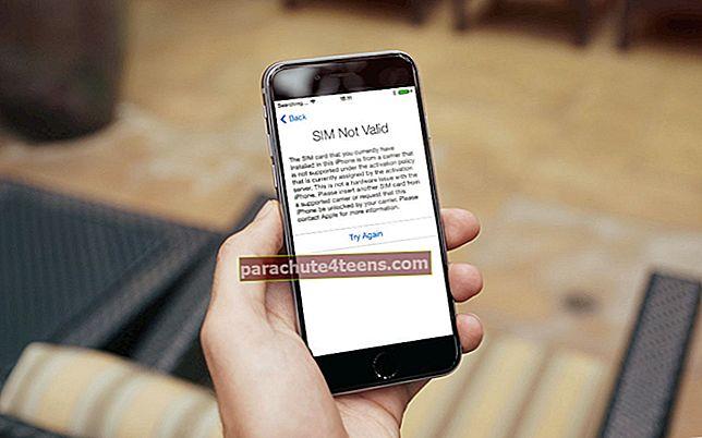 Lukitun SIM-kortin avaaminen iPhonessa
