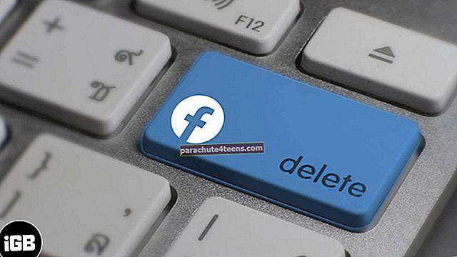 Kuinka deaktivoida tai poistaa Facebook-tilisi iPhonessa tai tietokoneessa