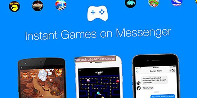 Kuinka pelata Facebook Messenger -pelejä iPhonessa, Macissa ja Windowsissa