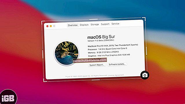 Ekrānuzņēmuma uzņemšana Mac datorā (pilnīgs ceļvedis)