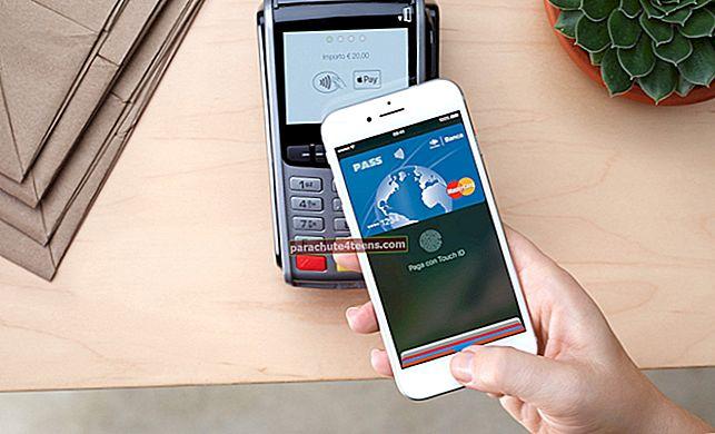 Päivitetty luettelo pankeista ja luottokorteista, jotka tukevat Apple Payta