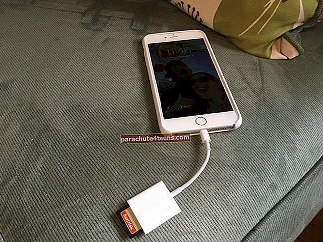 Tuo valokuvia digitaalikamerasta iPhoneen ja iPadiin [Ohjeet]
