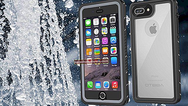 """Geriausios """"iPhone 7"""" vandeniui atsparios dėklai 2021 m"""