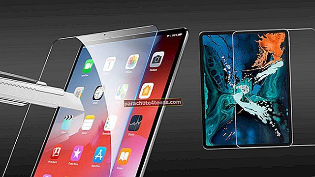 Parimad 12,9-tollised iPad Pro 2018 ekraanikaitsed aastal 2021