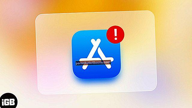 Vai nevarat izveidot savienojumu ar App Store iPhone un iPad ierīcēs? Kā to novērst